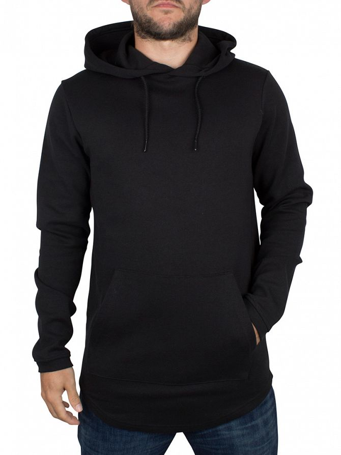Only & Sons Black Fritz Plain Hoodie