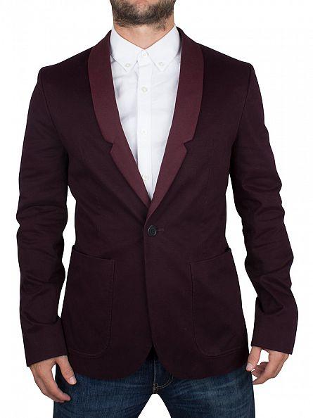 Religion Bordeaux Dunt Blazer Jacket