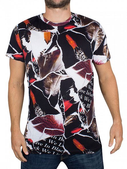 Religion Red Gig Feather Sublimation T-Shirt
