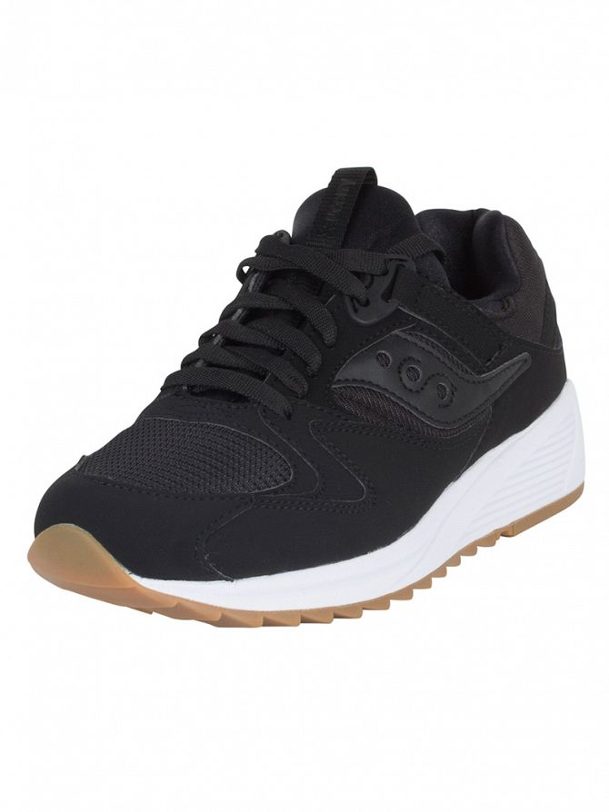 Saucony Black Grid 8500 Trainers