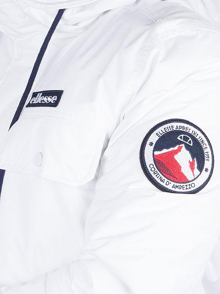 Ellesse Optic White Dolomites Logo Jacket