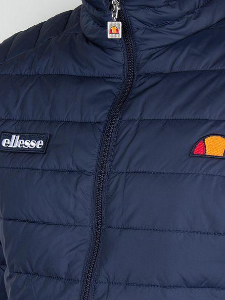 Ellesse Dress Blues Francesco Padded Logo Jacket