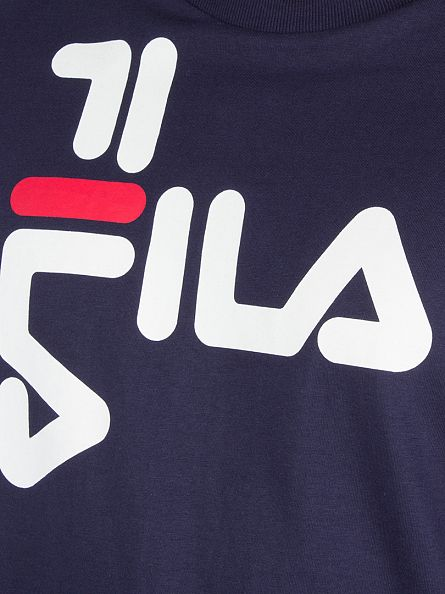 Fila Vintage Peacoat Black Line Diago Graphic T-Shirt