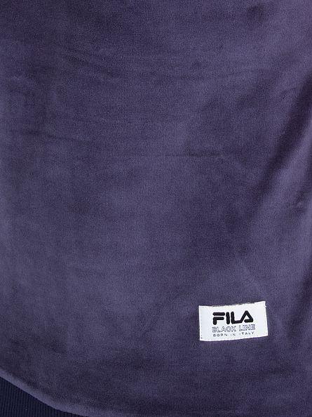 Fila Vintage Peacoat Black Line Serzo Raglan Logo Sweatshirt