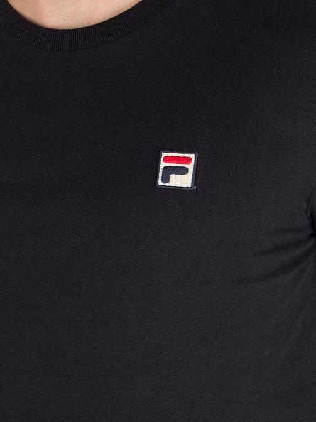 Fila Vintage Black Longsleeved Felice Logo T-Shirt