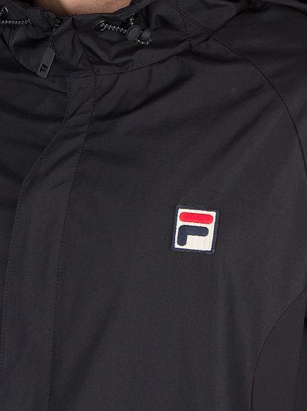 Fila Vintage Black Tivo Logo Jacket