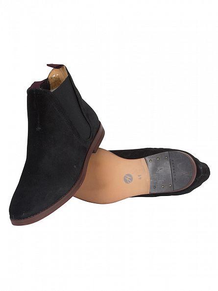 H by Hudson Black Tamper Boots
