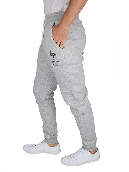 Hype Grey Classic C&S Logo Born In The UK Joggers
