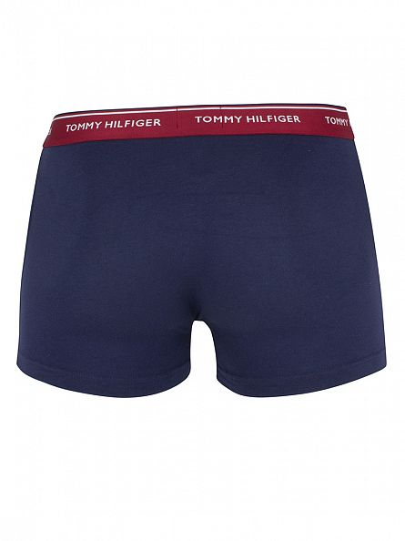 Tommy Hilfiger Lemon/Ponderosa Pine/Rhubarb 3 Pack Premium Essential Trunks