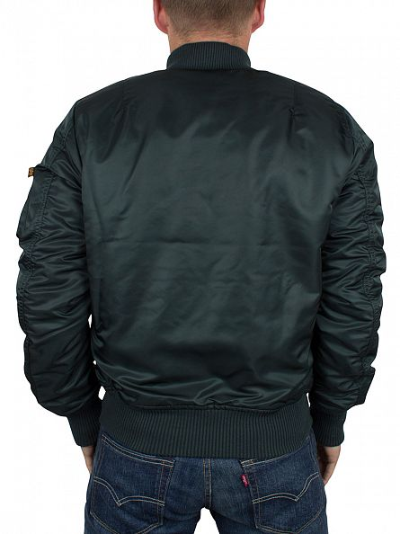 Alpha Industries Dark Petrol MA-1 VF Bomber Jacket