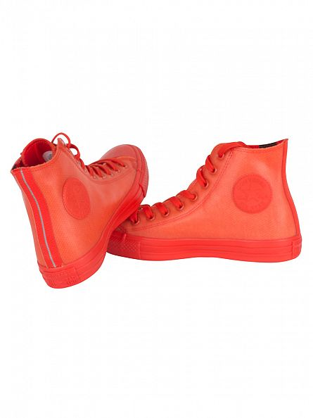 Converse Signal Red CTAS HI Trainers