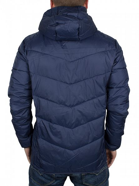 Ellesse Dress Blues Ginap Panel Padded Logo Jacket