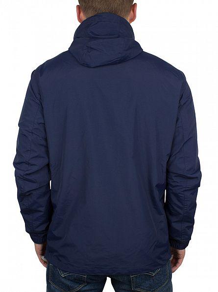 Farah Vintage Yale Blue Newbern Logo Zip Jacket