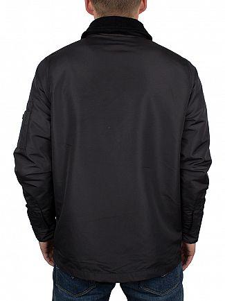 Hype Black Script Logo C&S Hunting Jacket