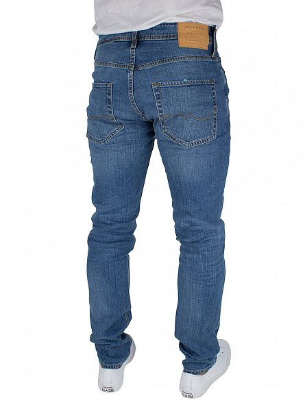 Jack & Jones Blue Denim Slim Fit Tim Original 013 Jeans