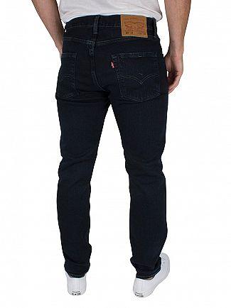 Levi's Dark Denim 501 Kobori Stretch Extensible C&T Jeans