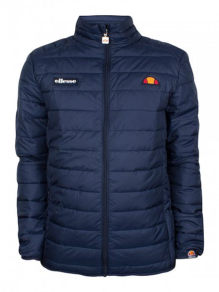 Ellesse Dress Blues Francesco Padded Logo Jacket