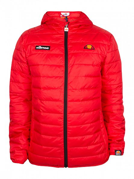 Ellesse Flame Scarlet Lombardy Padded Jacket