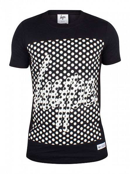 Hype Black Spot Graphic T-Shirt