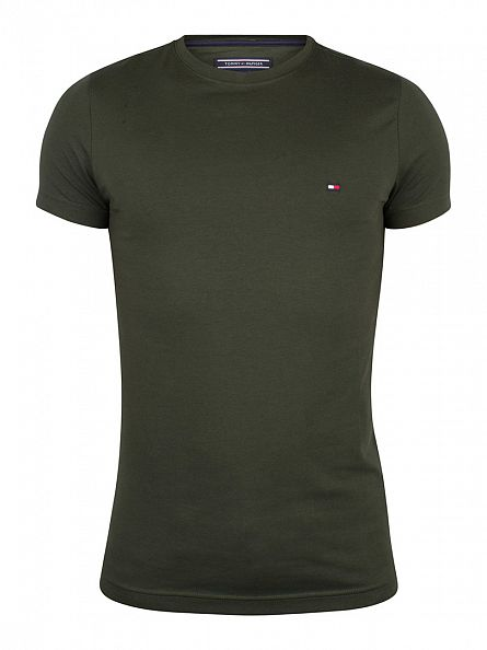 Tommy Hilfiger Rosin Stretch Logo T-Shirt