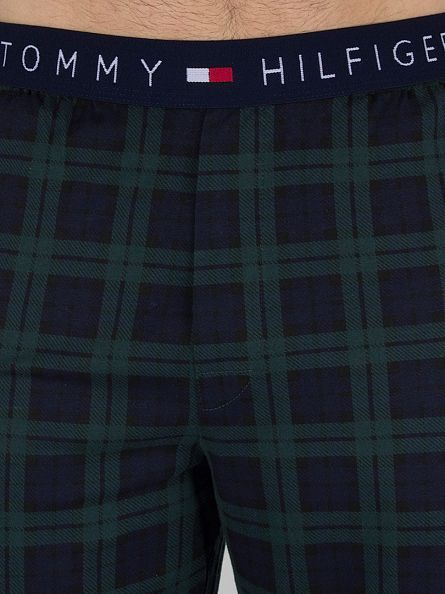 Tommy Hilfiger Peacoat Icon Jersey Check Logo Pyjama Bottoms