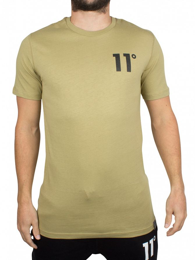 11 Degrees Sponge Core Logo T-Shirt