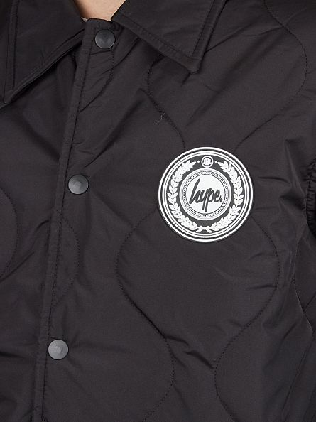 Hype Black Reef C&S Quilted Jacket