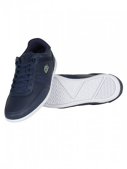 Lacoste Navy Giron 416 1 SPM Trainers