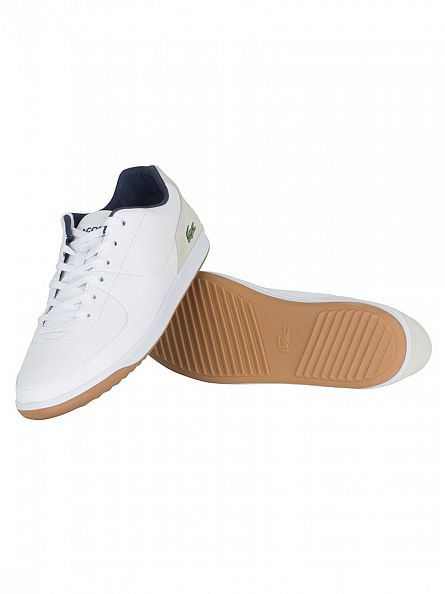 Lacoste White LS.12-Minimal Ripple 316 Trainers