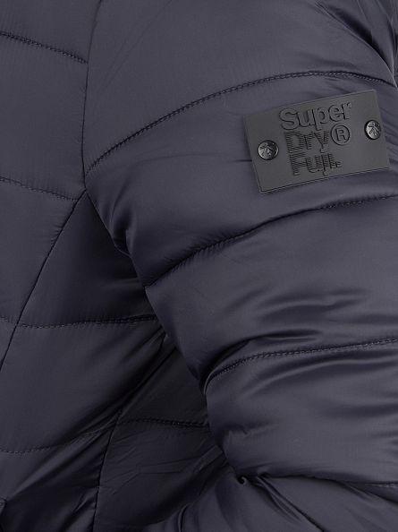 Superdry Ink Fuji Logo Puffa Bomber Jacket
