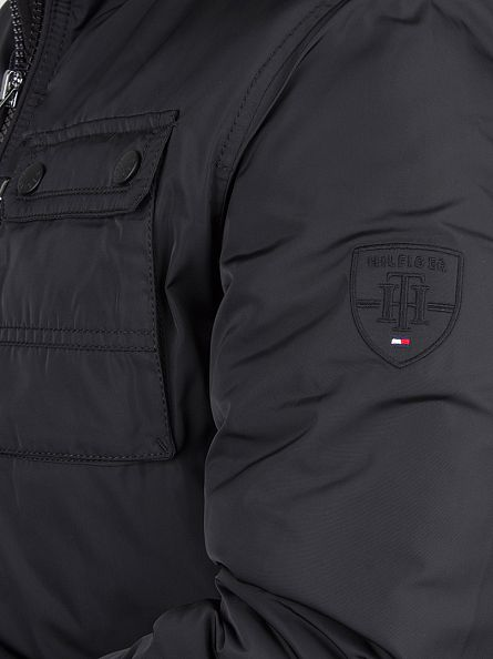 Tommy Hilfiger Flag Black Bob Bomber Jacket