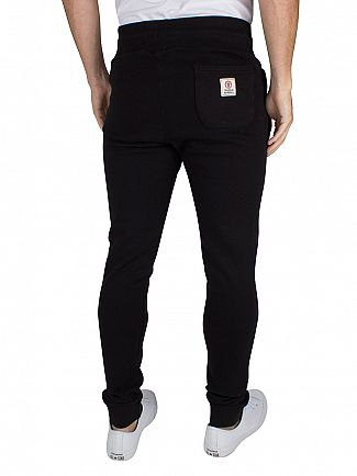 Franklin & Marshall Black Skinny Fit Logo Joggers