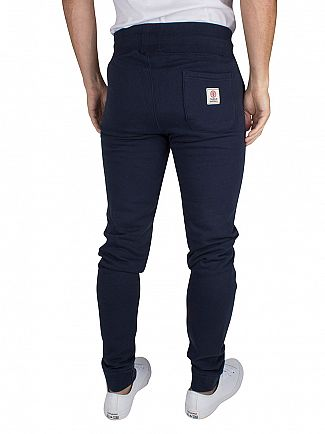 Franklin & Marshall Navy Slim Fit Logo Joggers