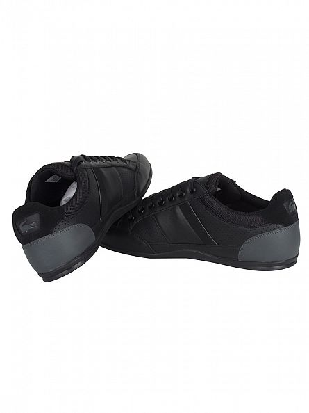 Lacoste Black/Dark Grey Chaymon 316 1 CAM Trainers