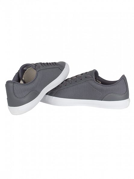 Lacoste Dark Grey Lerond 316 1 SPM Trainers