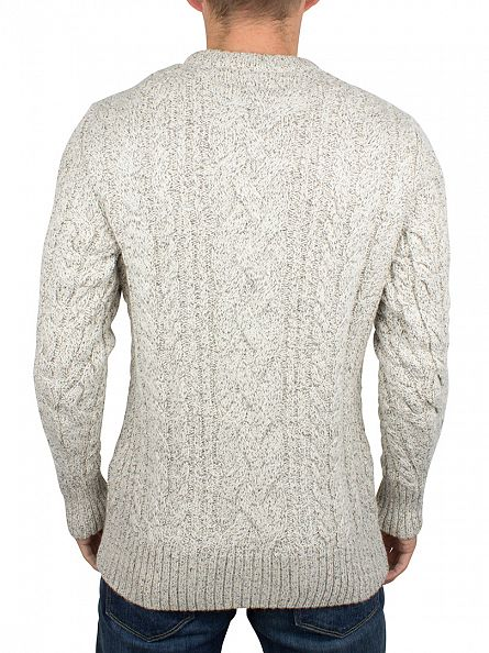 Superdry Porridge Twist Jacob Heritage Cable Knit