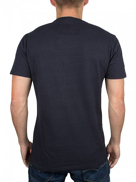 Superdry Eclipse Navy Shop Duo Graphic T-Shirt