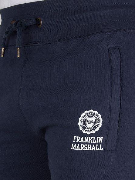 Franklin & Marshall Navy Slim Fit Logo Joggers