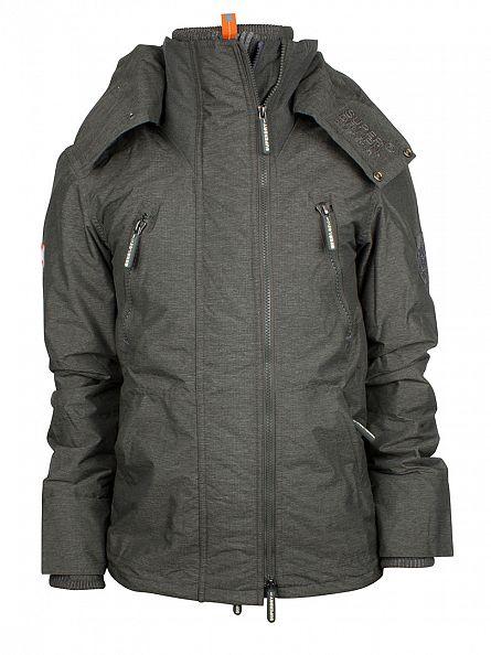 Superdry Khaki Marl/Rock Arctic Wind Attacker Jacket