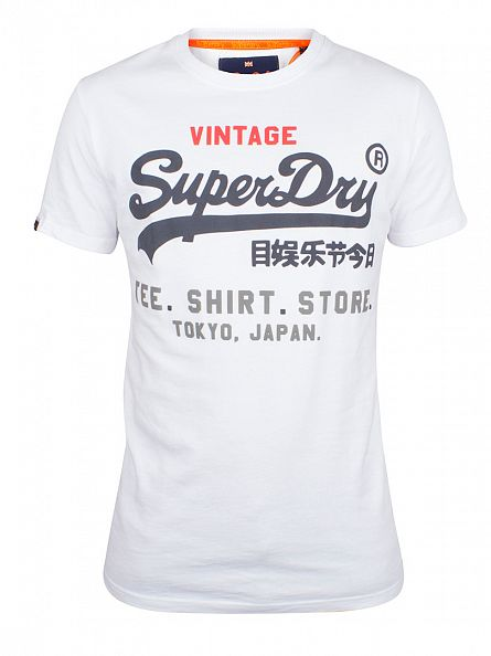 Superdry Optic Shop Tri Graphic T-Shirt