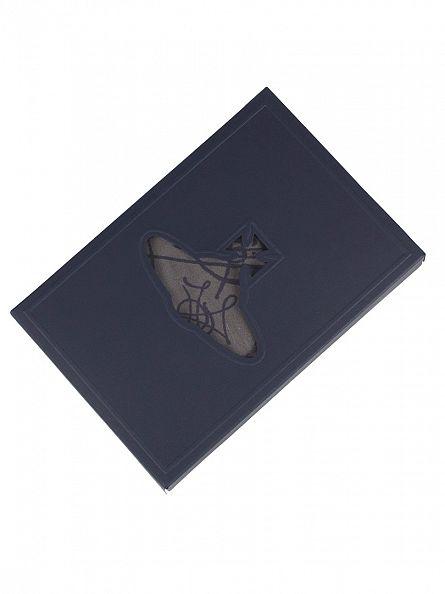 Vivienne Westwood Grey/Blue All Over Logo Trunks
