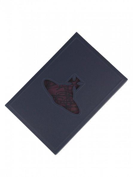 Vivienne Westwood Burgundy/Black All Over Logo Trunks