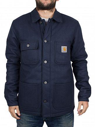 Carhartt WIP Navy Michigan Chore Jacket