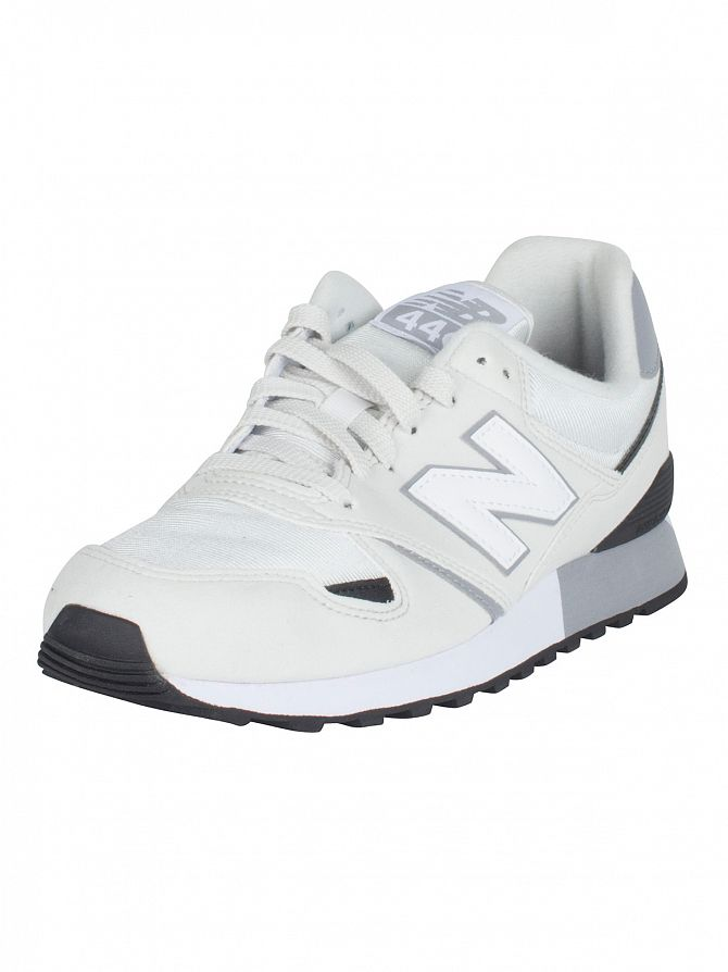 New Balance Grey/White 446 Trainers