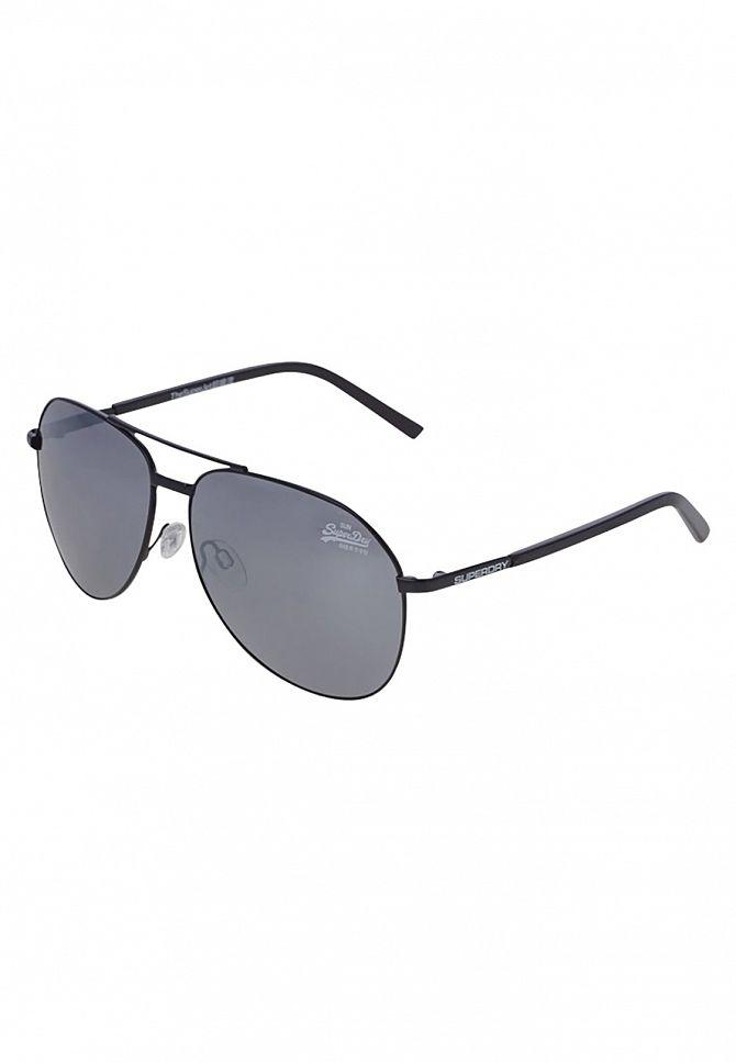 Superdry Matt Black/Black Super Jet Sunglasses