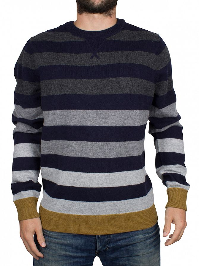 Tommy Hilfiger Midnight/Multi Brian Striped Knit