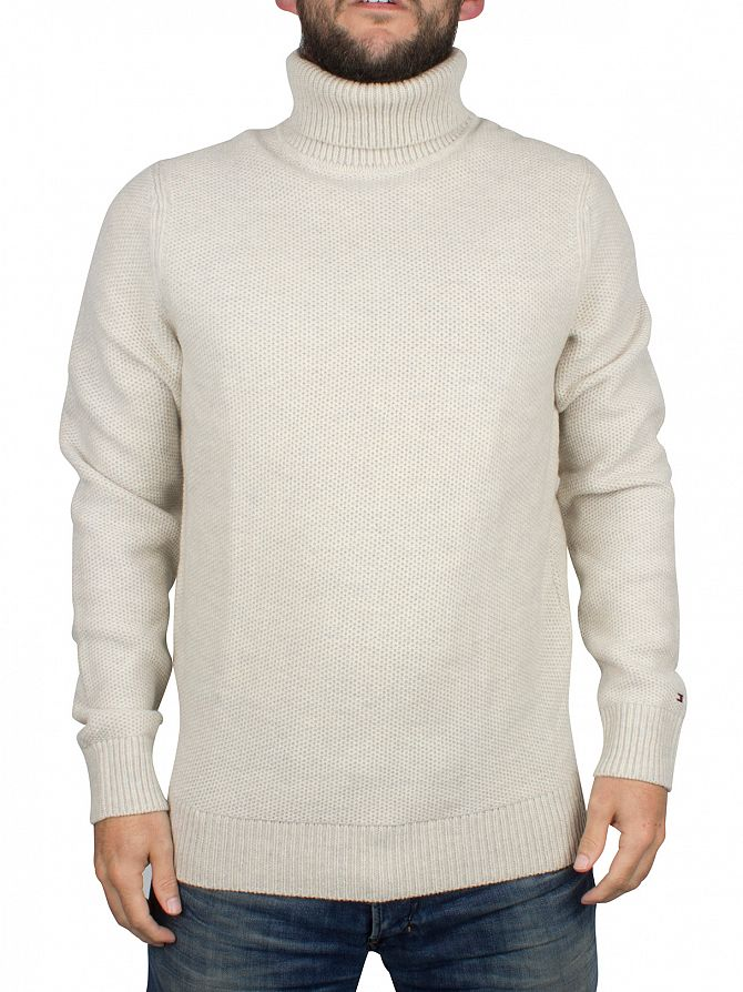 Tommy Hilfiger Birch Ronald Roll Neck Knit