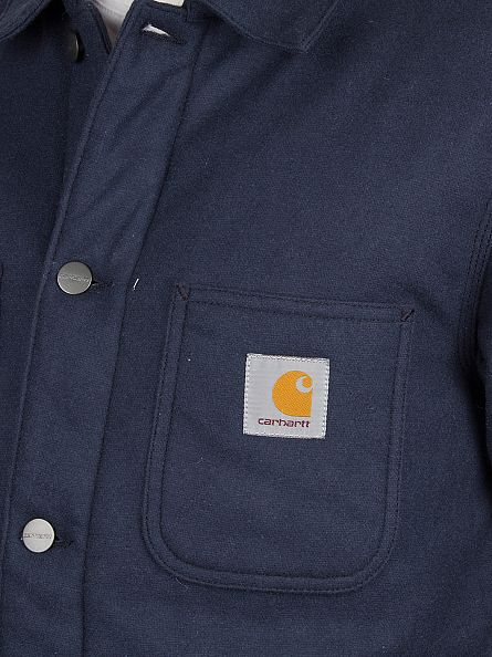 Carhartt WIP Navy Michigan Chore Jacket