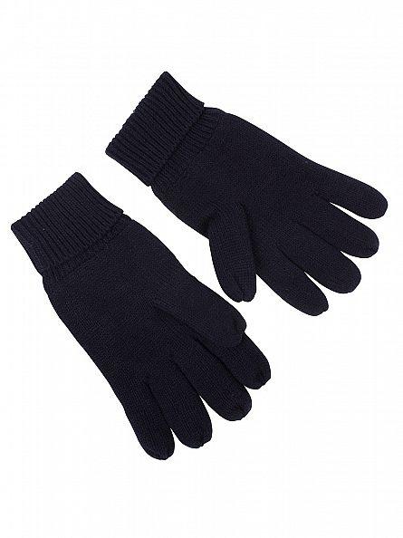 Superdry True Track Navy Orange Label Gloves