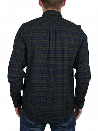 Carhartt WIP Blue/Green Longsleeved Checked Shawn Shirt